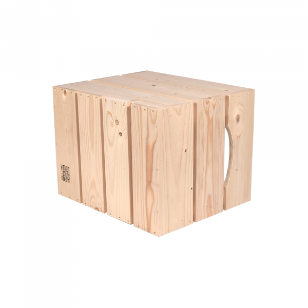 Caisse en bois L3 . L36 x H30 x P27 cm - Made in France & éco-responsable