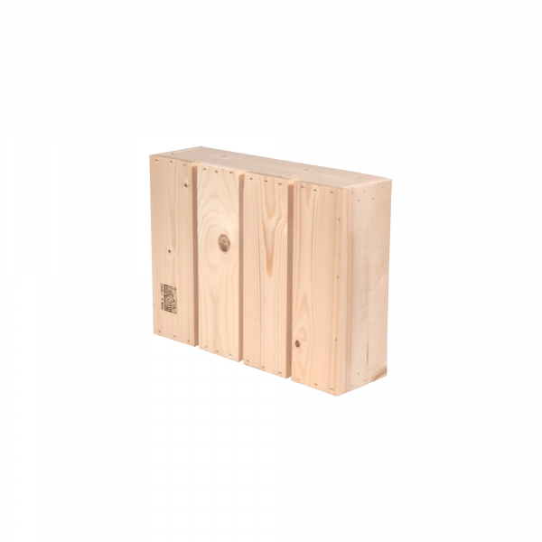 Caisse en bois L1 . L36 x H10 x P27 cm - Made in France & éco-responsable
