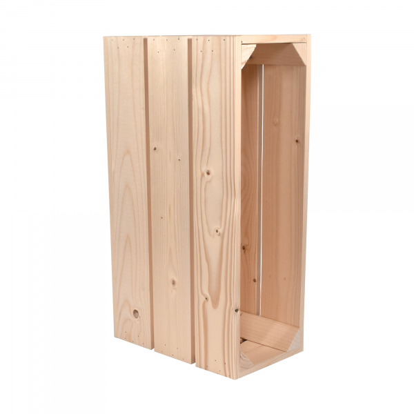 Caisse en bois H3 . L18 x H30 x P54 cm - Made in France & éco-responsable