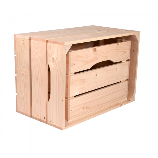 Caisse Tiroir (L44 x H30 x P36 cm) - Made in France & éco-responsable
