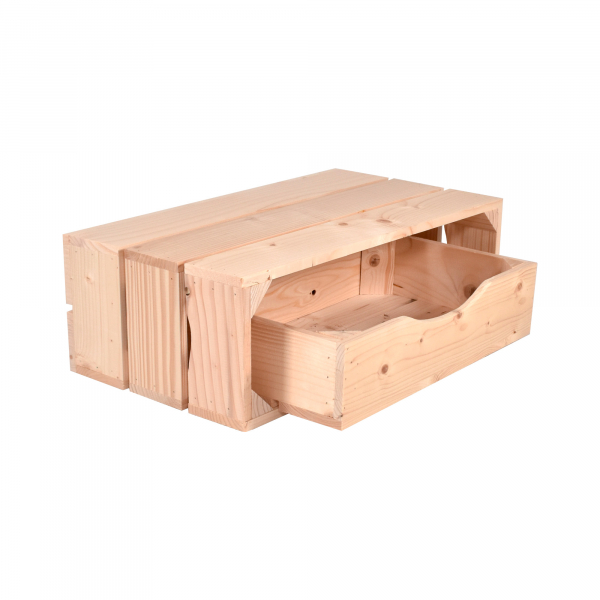 Caisse Tiroir (L44 x H10 x P27 cm) - Made in France & éco-responsable